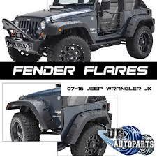 2011 jeep wrangler fender flares wide pocket style rivet front rear fender flares 07 17 jeep