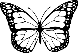 butterfly 1 black icons png free png and icons downloads