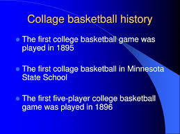 ppt the history of basketball powerpoint presentation id 23883