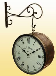 Awesome Clocks by Fresh Awesome Double Sided Clock And Thermometer 18168