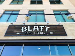 blatt beer and table menu blatt beer table dallas review kitchen gone rogue