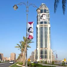 Picture Of Qatar Flag Love For Sheikh Tamim Hits Fever Pitch In Qatar U2013 Doha News U2013 Medium