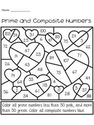valentine u0027s day prime and composite numbers activity by the busy class