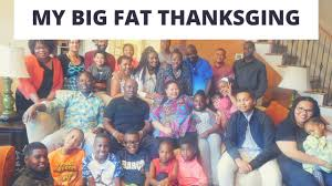 my big thanksgiving family happy holidays south