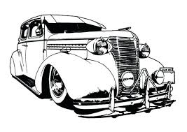 coloring pages of lowrider cars low rider drawing at free for personal use low truck cars coloring