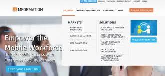 website menu design web design best practices easy clear navigation