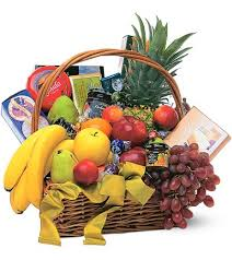 fruit basket gifts gourmet fruit basket fortino s flowers and gifts
