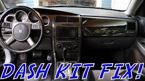 dodge charger dash kit carbon fiber dash kit fix 2007 charger srt8