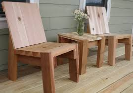 mine wood making wood chair plans