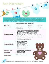 hobbies and interests in resume example babysitter resume sample template learnhowtoloseweight net babysitter resume template babysitter resume is going to help with babysitter resume sample template