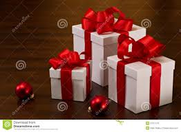 christmas christmas gift boxes decorated for stock photo box