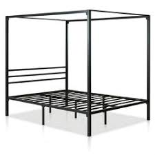 Iron Canopy Bed Black Iron Canopy Bed