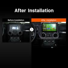 jeep wrangler navigation system 10 1 inch hd touch screen 2011 2012 2013 2014 2015 2016 2017 jeep