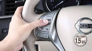nissan rogue youtube 2016 2016 nissan rogue steering wheel audio controls youtube