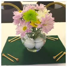 Retirement Centerpiece Ideas by Golf Themed Centerpieces For My Father In Law U0027s Retirement Party