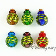 jewelry urns small glass bottles for pendant necklacescremation urns jewelry