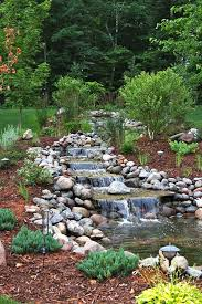 Backyard Water Falls by 1061 Best Ponds Images On Pinterest Backyard Waterfalls