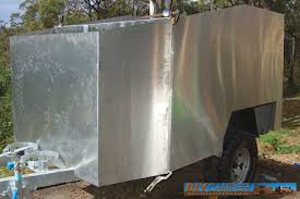 Diy Hard Floor Camper Trailer Plans Body And Canvas Diy Camper