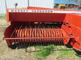 massey ferguson mf130 small square baler item g9325 sold