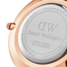 Classic by Womens Watch Classic Petite Melrose 32 Mm White Daniel