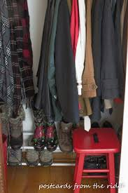 Coat Closet by 6 Ways To Organize Your Coat Closet Postcards From The Ridge
