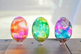 glass easter egg ornaments stained glass easter eggs