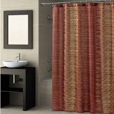 Brown Patterned Curtains Orange Patterned Curtains Coryc Me