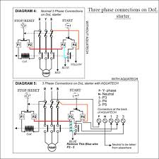 water pump wiring diagram single phase efcaviation com