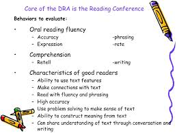 ppt developmental reading assessment powerpoint presentation