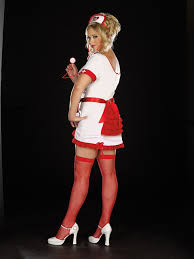 Nurse Halloween Costumes Womens 5 Pc Nurse Juana Sedated Size Costume Amiclubwear