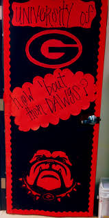Georgia travel contests images College door decorating contest university of georgia bulldogs jpg