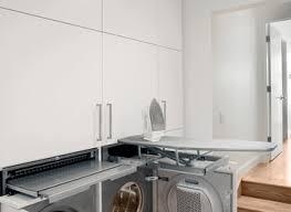 Contemporary Laundry Room Ideas Horizons Window Fashions For A Contemporary Laundry Room With A