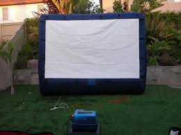 Backyard Movie Theatre by How To Arrange The Best Outdoor Movie Projection