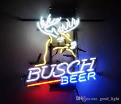 busch light neon sign 2018 17 x 14busch beer bar bud led vintage neon sign light home wall