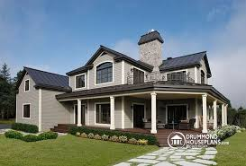 house plans with large front porch house plan w6804 detail from drummondhouseplans com
