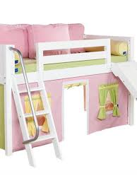 curtain for loft bed with slide decorate the house with