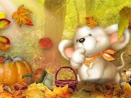 imagenes de otoño para fondo de escritorio tesoros mouse otoño fondos de pantalla gratis