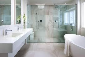 sliding glass shower doors bathroom contemporary with alcove