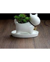 Ceramic Garden Decor Snag This Holiday Sale 47 Off Cute Dog Plant Pot Home Office