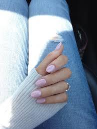 pink oval nails beauty pinterest pink oval nails oval