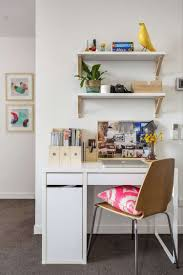 White Small Computer Desk by Decorations Small Home Office Space With White Small White Wood