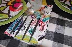 Crate And Barrel Napkins Tabletop Stories May 2012