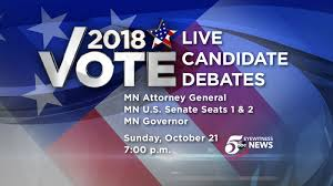 Minnesota Travel Chanel images Vote 2018 day of debates jpg