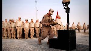 army fallen comrade table script ann m wolf soldier s cross or battlefield cross ceremony youtube
