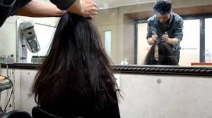 long hair lady head massage for a lady youtube