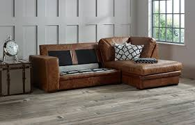 Chaise Beds Abbey Leather Chaise Sofa Bed Right Hand Facing Corner Sofa Beds