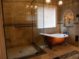 bathroom curtain ideas for shower bathroom gleaming vintage claw foot freestanding tub with shower