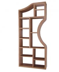 curved wooden display shelves curving wall units
