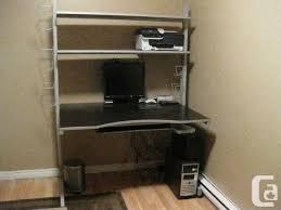 bureau jerker ikea ikea jerker desk v s l for sale in montreal