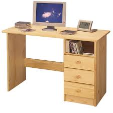 computer desk for students natural